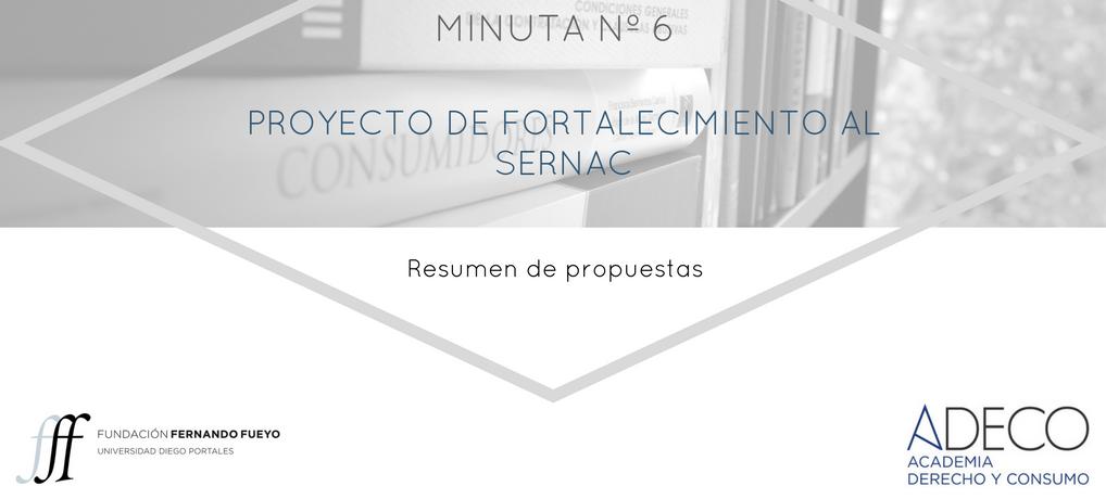 ADECO presenta minuta con resumen de propuestas al proyecto de ley de fortalecimiento al Sernac