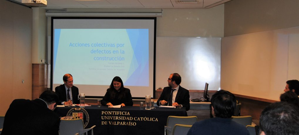 Directora de ADECO expuso en seminario de acciones colectivas