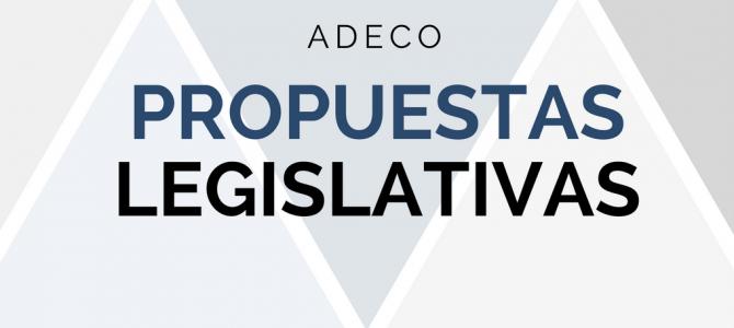 """ADECO presenta """"Propuestas legislativas en períodos electorales"""""""