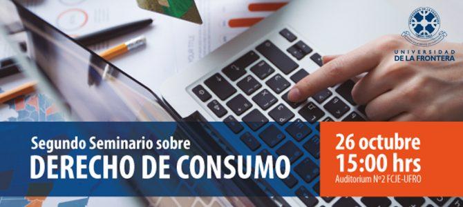Segundo Seminario sobre Derecho del Consumo UFRO